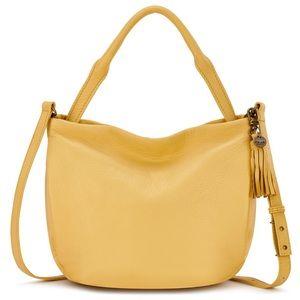 🆕 The Sak pebbled leather yellow crossbody bag